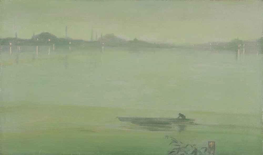 Thames Nocturne - James Abbott McNeill Whistler