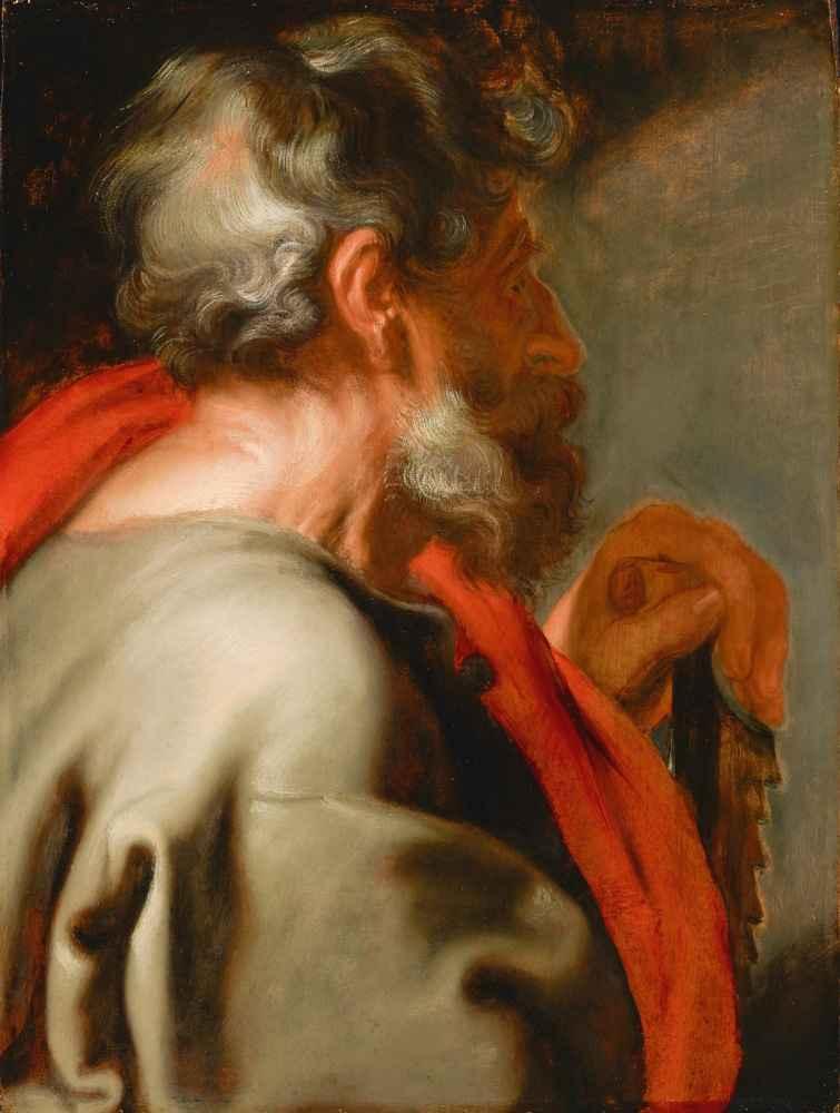 The Apostle Simon - Antoon van Dyck