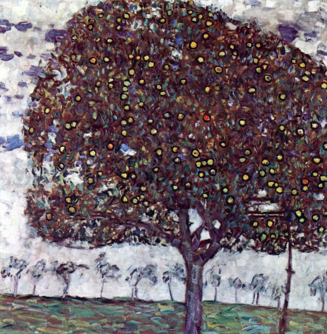 The Apple Tree - Klimt