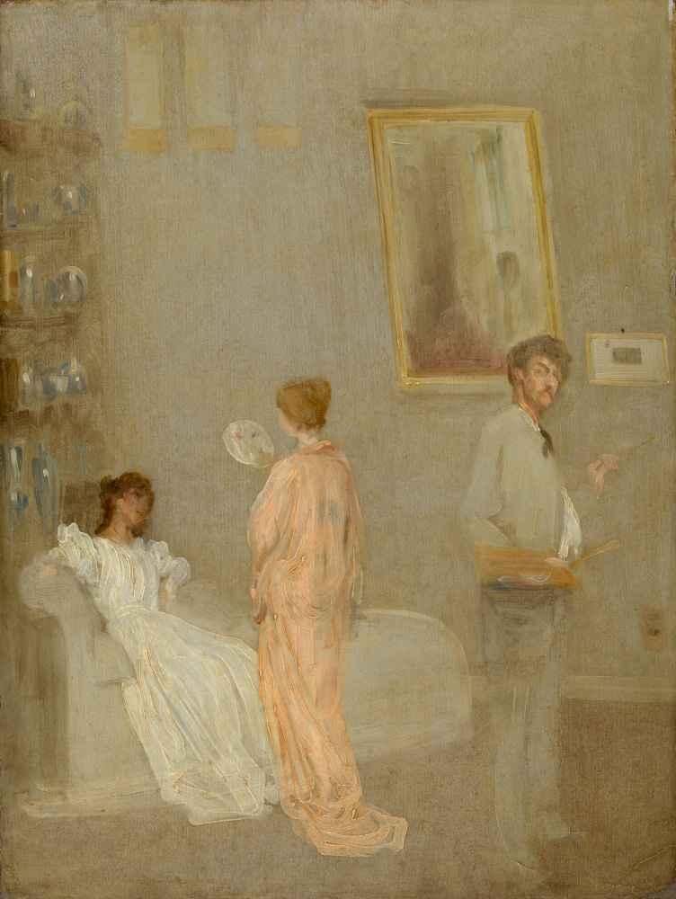 The Artist in His Studio - James Abbott McNeill Whistler
