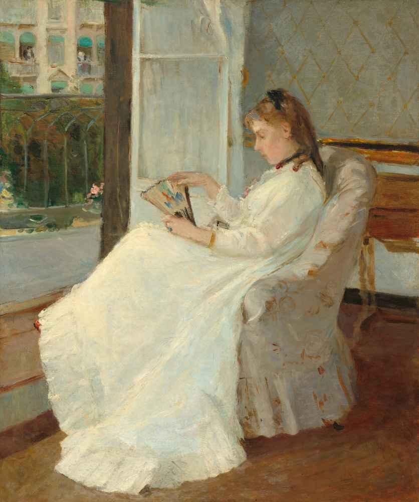 The Artists Sister at a Window - Berthe Morisot
