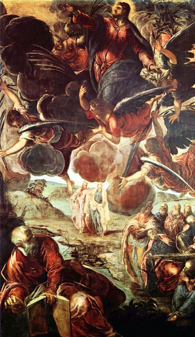 The Ascension - Tintoretto