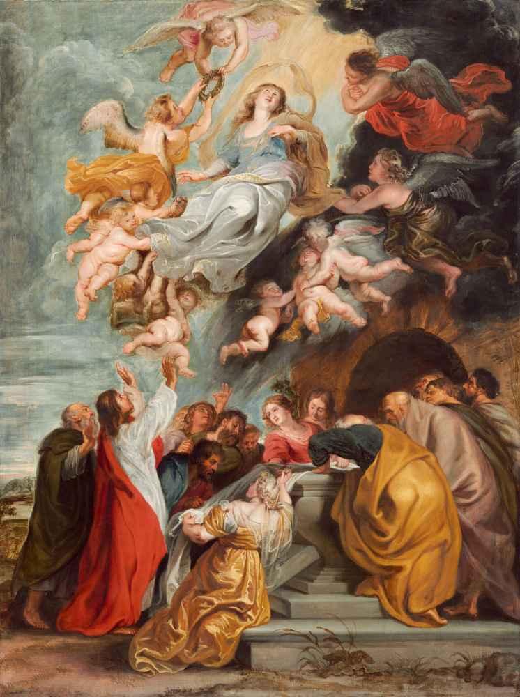 The Assumption of the Virgin 2 - Peter Paul Rubens