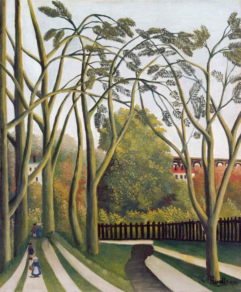 The Banks of the Bièvre near Bicêtre - Henri Rousseau