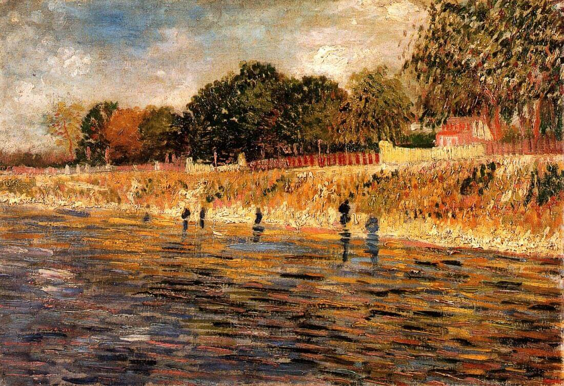 The Banks of the Seine - Van Gogh