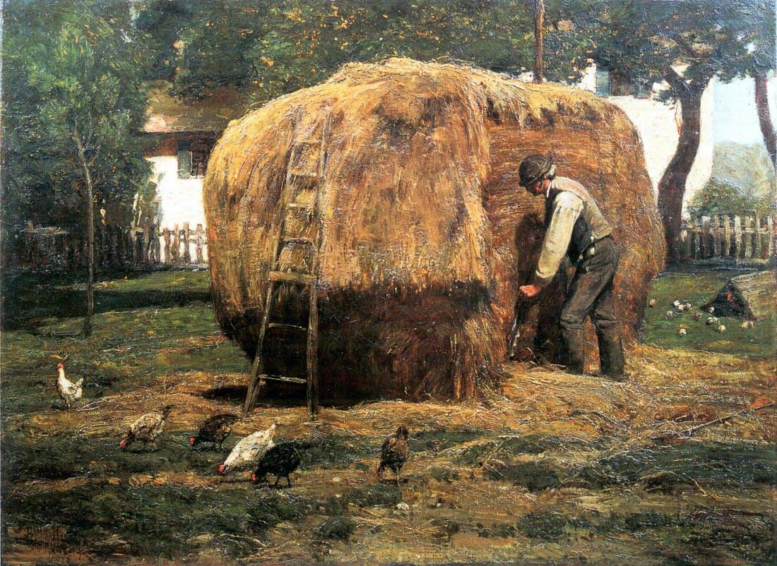 The Barnyard - Hassam