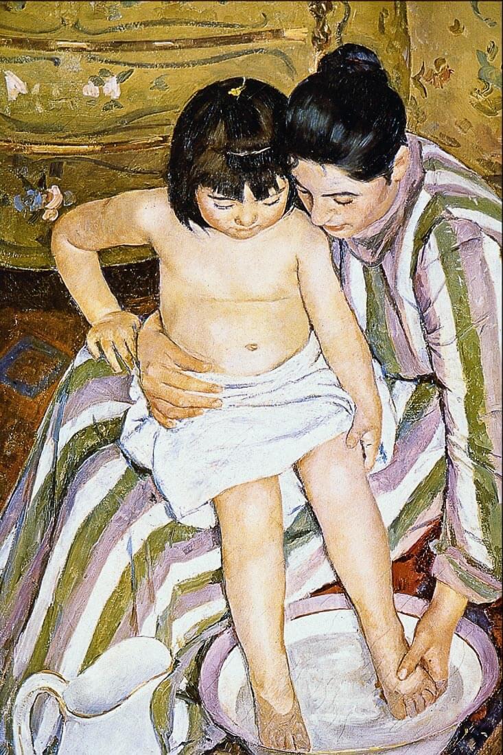 The Bath - Renoir