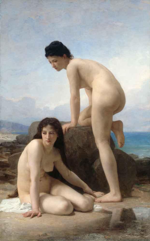 The Bathers - William-Adolphe Bouguereau