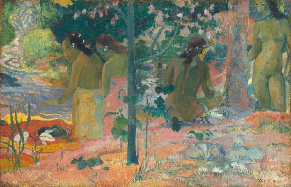 The Bathers - Paul Gauguin