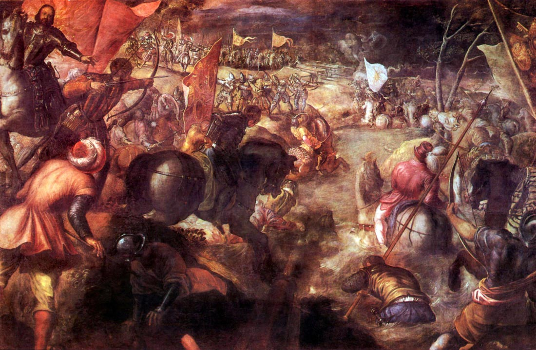 The Battle of Taro - Tintoretto