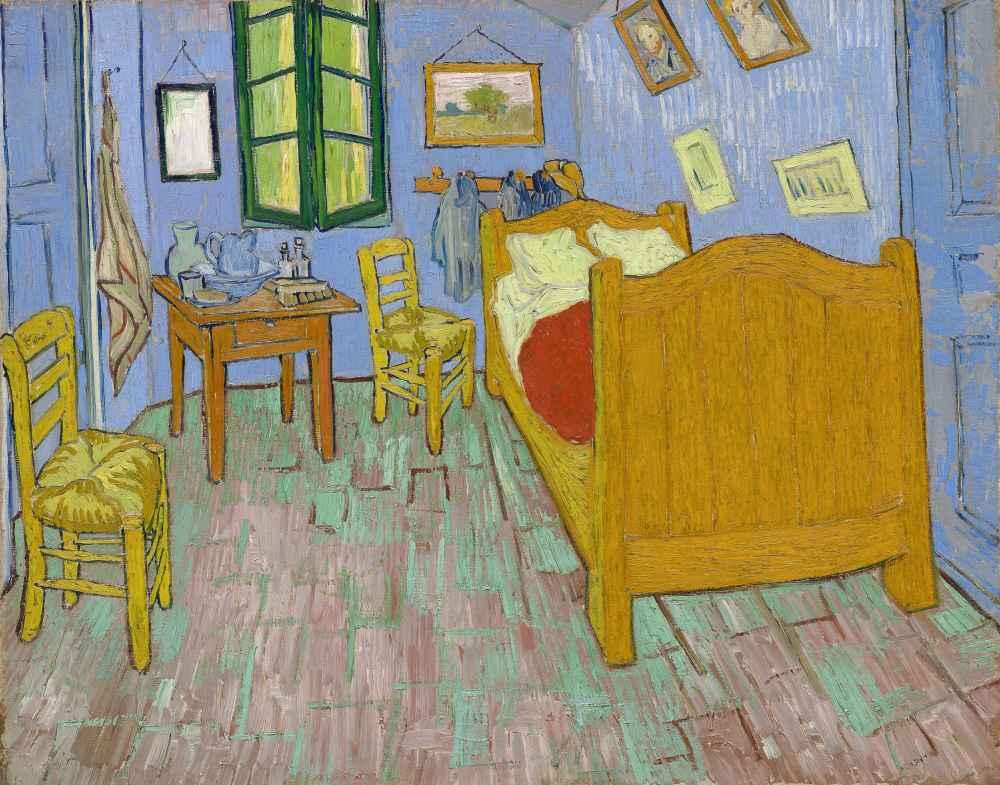 The Bedroom - Vincent van Gogh