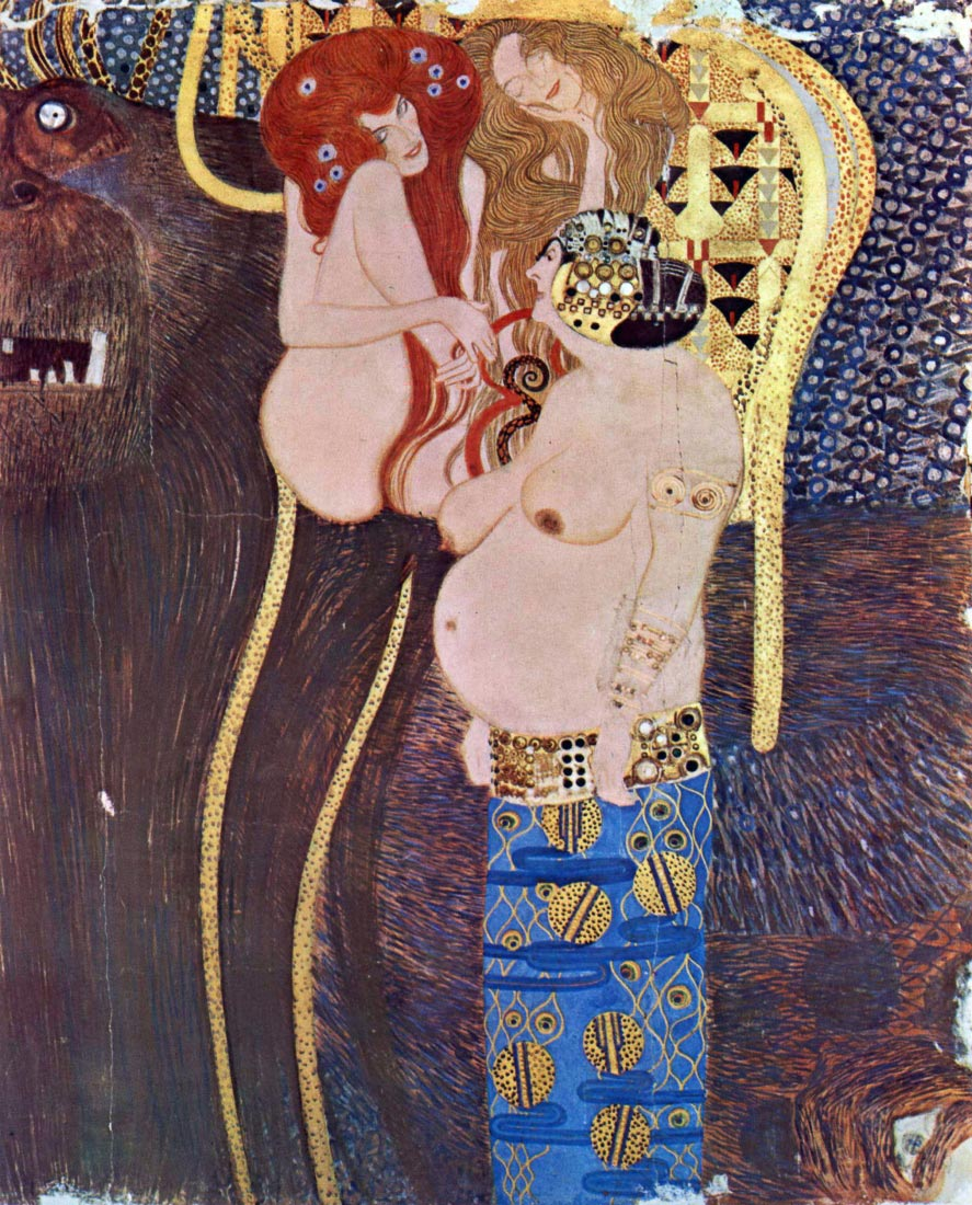 The Beethoven Freize 2 - Klimt