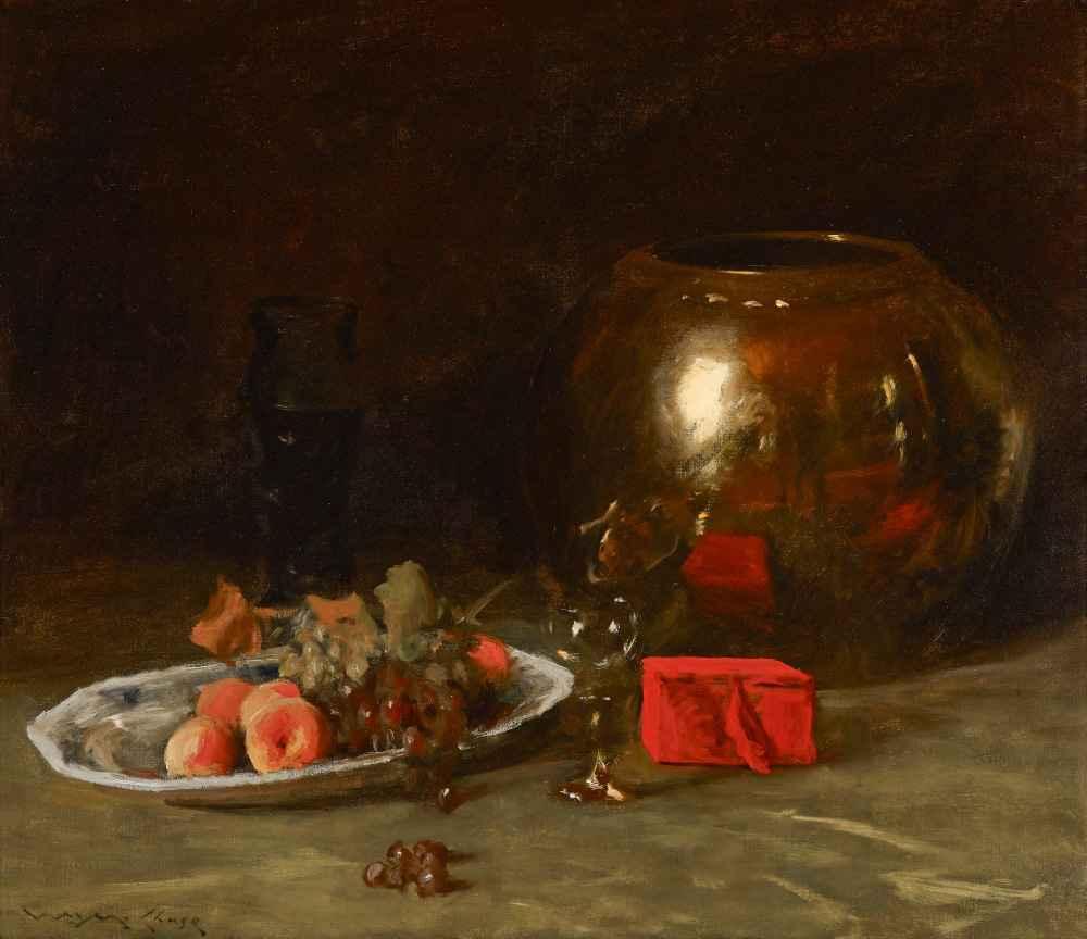 The Big Brass Bowl - William Merritt Chase
