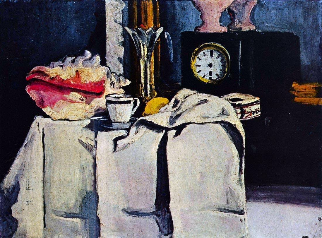 The Black Marmour - Cezanne