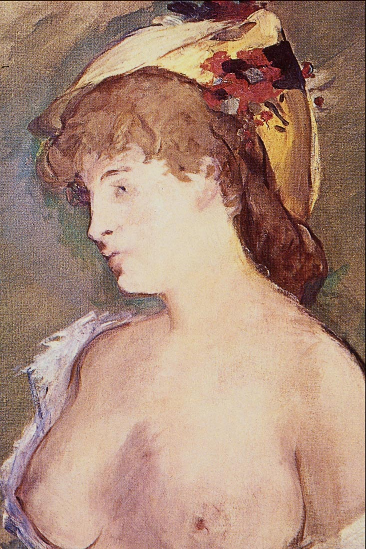 The Blond Nude - Manet