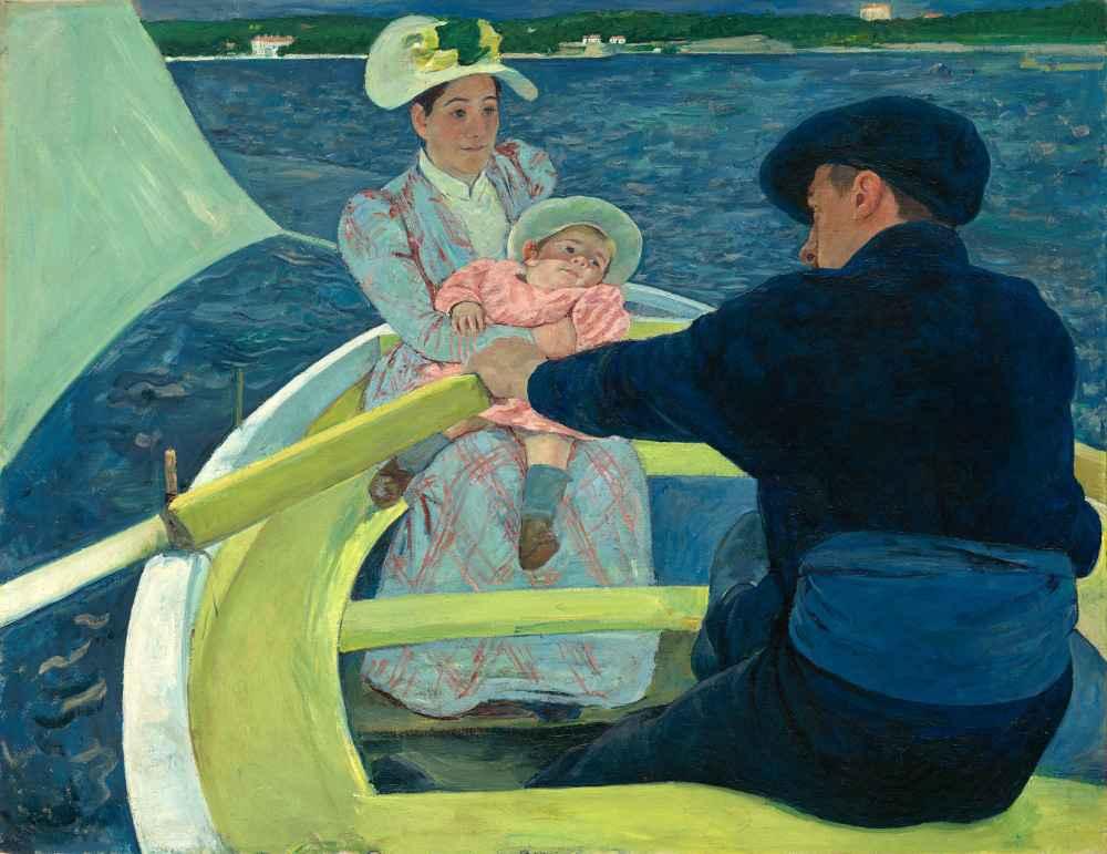 The Boating Party - Mary Cassatt