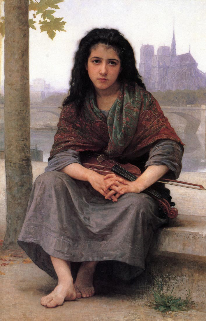The Bohemian - Bouguereau