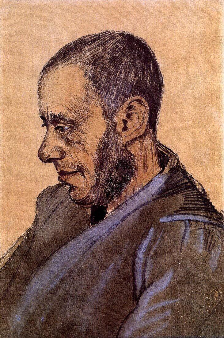The Bookseller Blok - Van Gogh