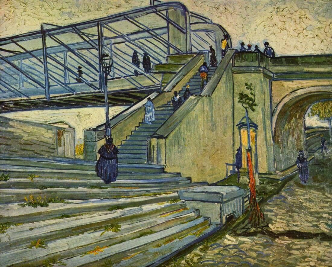 The Bridge at Trinquetaille - Van Gogh