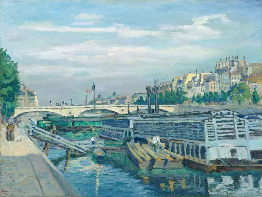 The Bridge of Louis Philippe - Armand Guillaumin