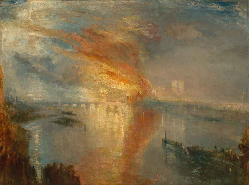 The Burning of the Houses of Lords and Commons, 16 October 1834 - Jose