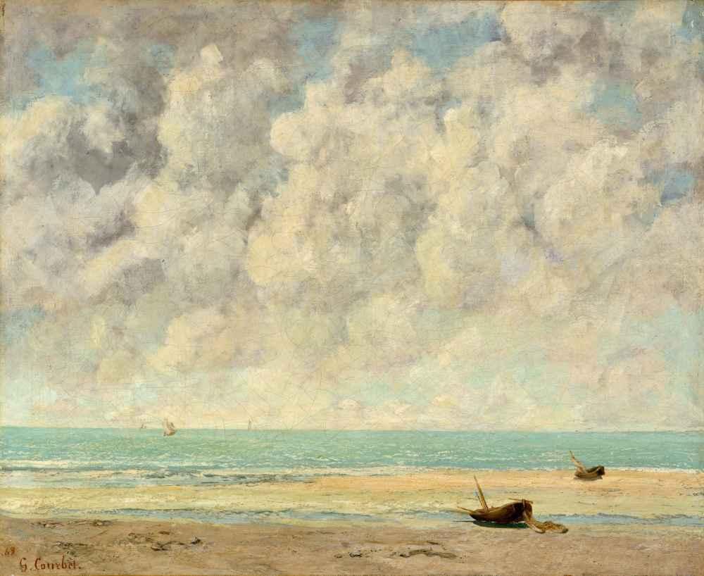 The Calm Sea - Gustave Courbet