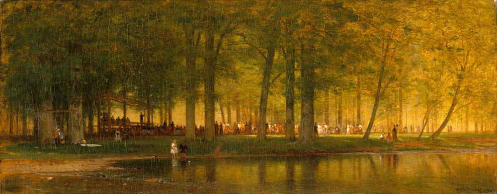 The Camp Meeting - Worthington Whittredge