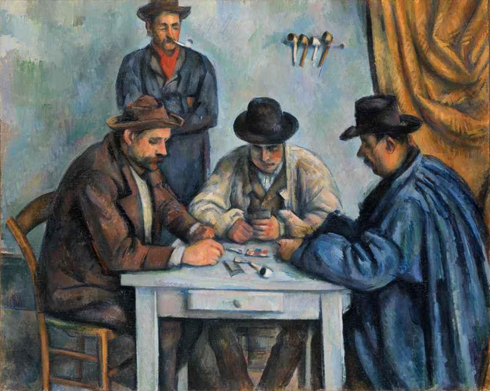 The Card Players 2 - Paul Cezanne