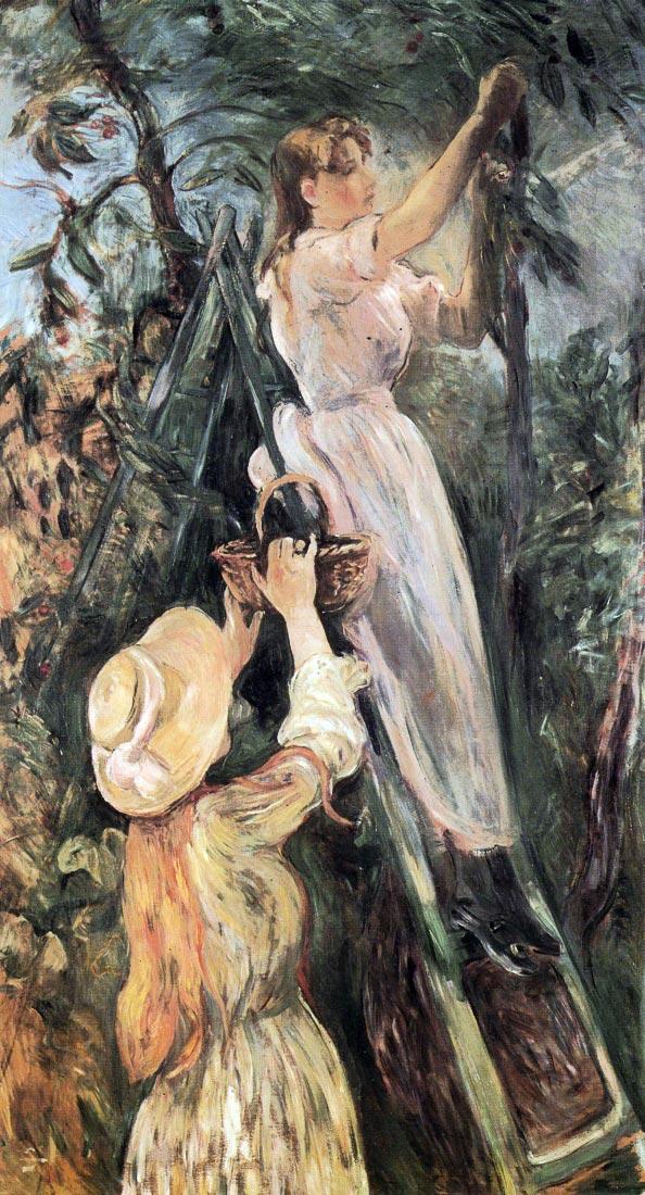 The Cherry Tree - Morisot