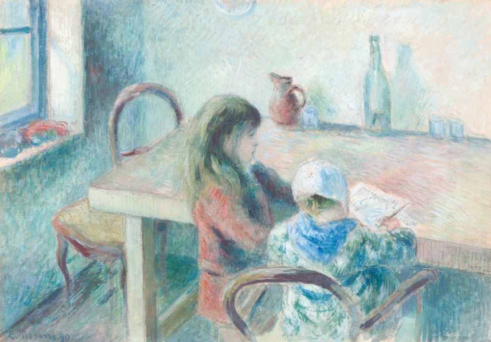 The Children - Camille Pissarro