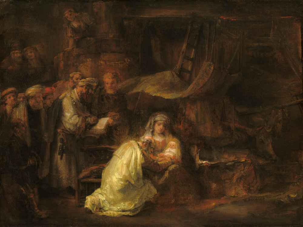 The Circumcision - Rembrandt Harmenszoon van Rijn