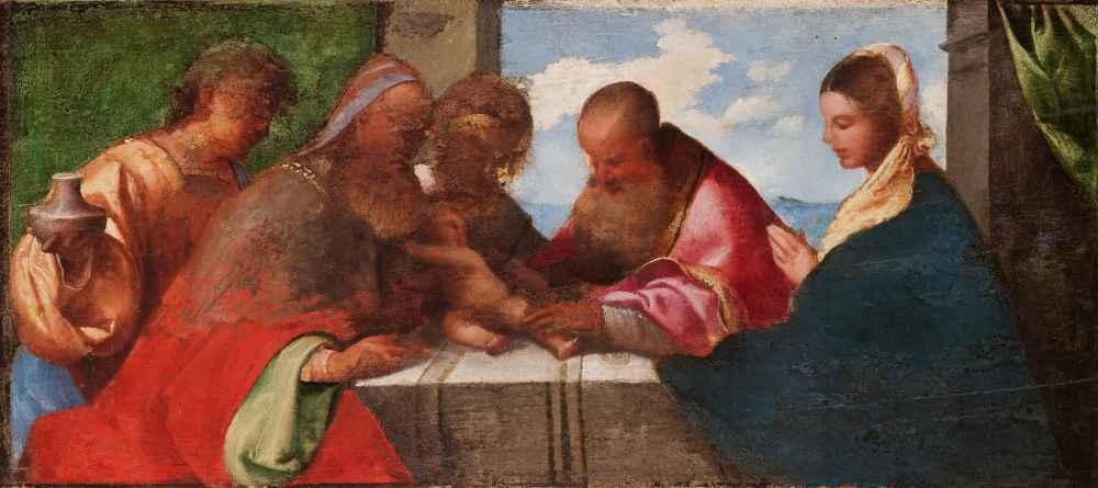 The Circumcision of Christ - Tycjan