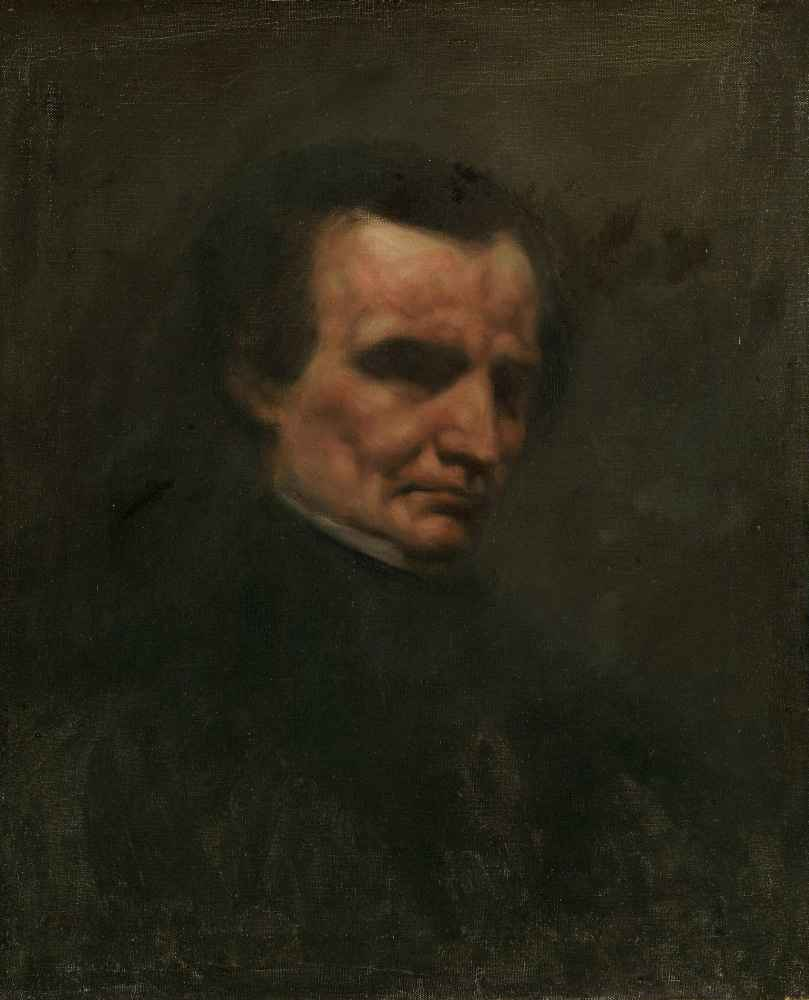 The Composer Hector Berlioz - Gustave Courbet
