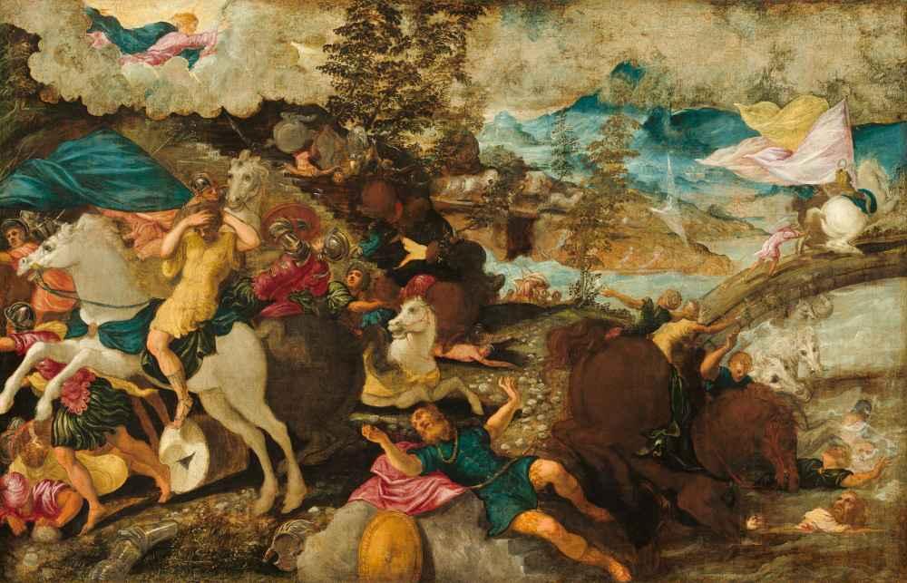 The Conversion of Saint Paul - Jacopo Tintoretto