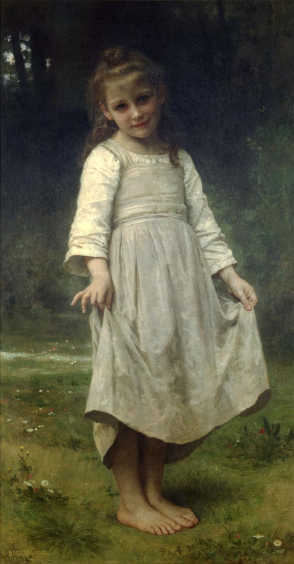 The Curtsey - Bouguereau