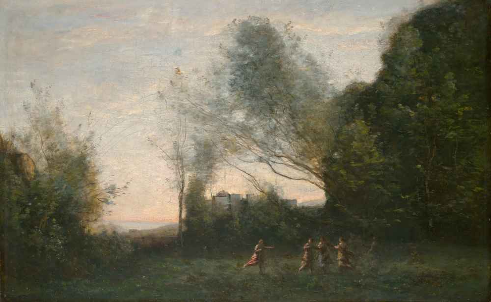 The Dance of the Nymphs - Jean Baptiste Camille Corot