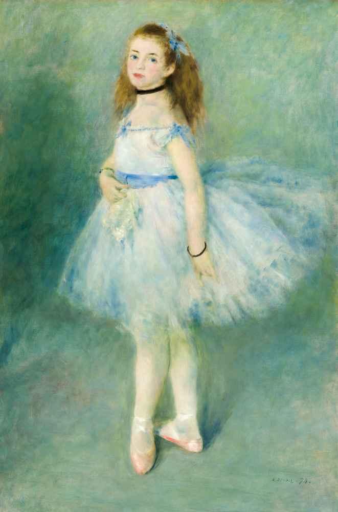 The Dancer - Auguste Renoir