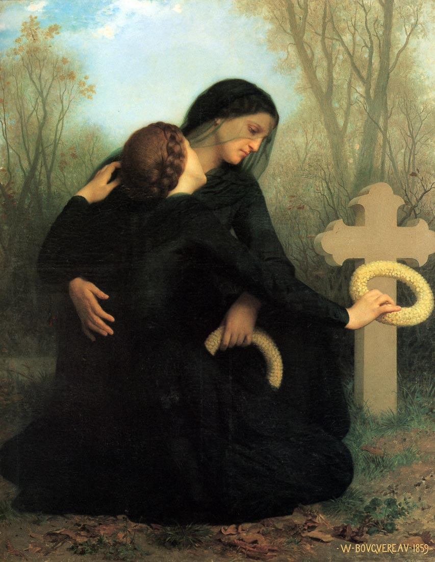 The Day of the Dead - Bouguereau