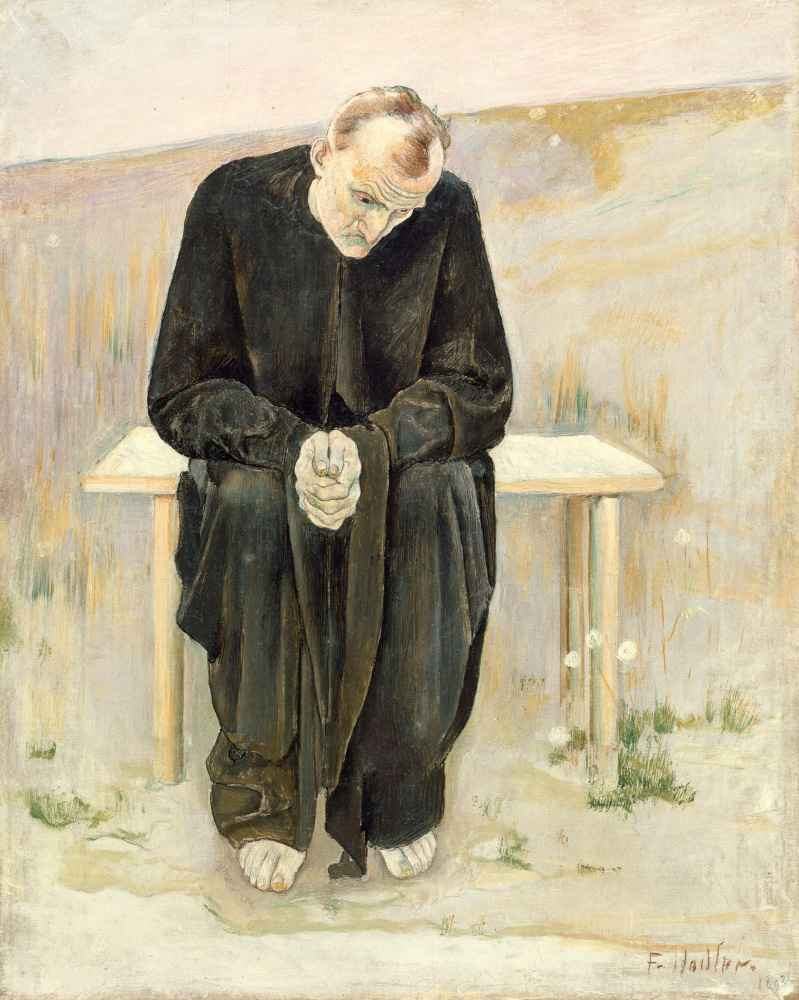 The Disillusioned One - Ferdinand Hodler