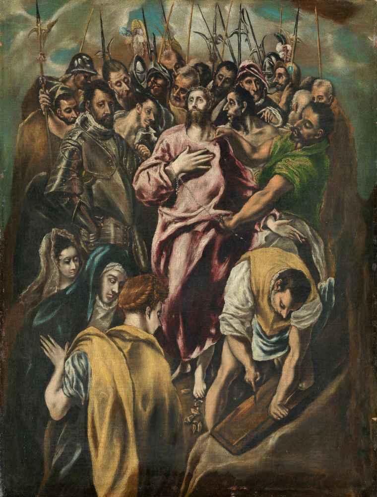 The Disrobing of Christ - El Greco