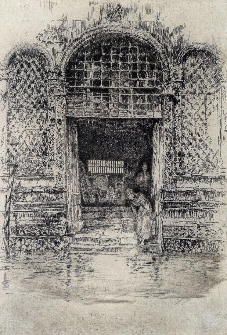 The Doorway - James Abbot McNeill Whistler