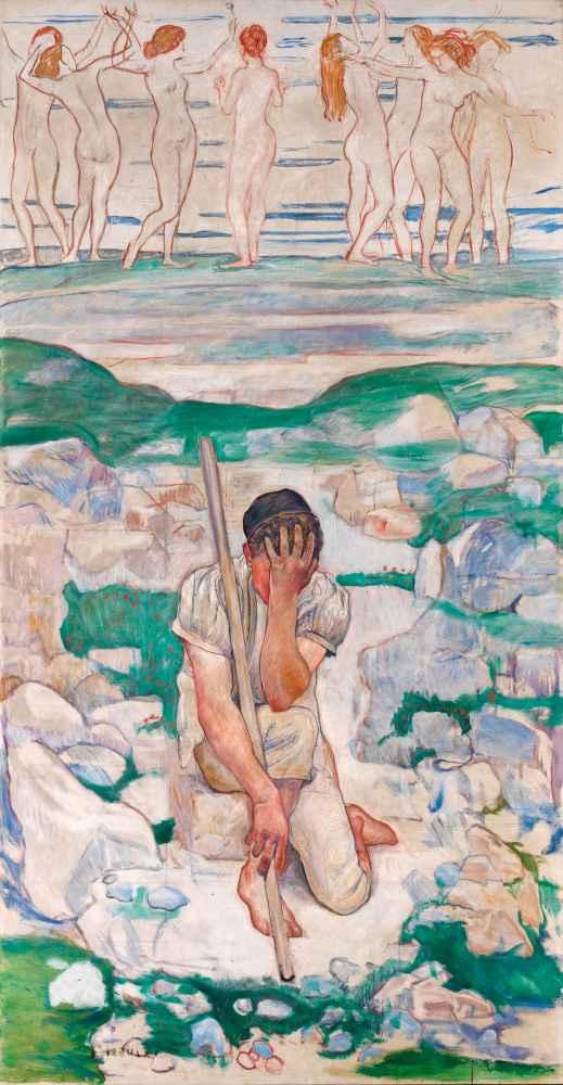 The Dream of the Shepherd - Ferdinand Hodler