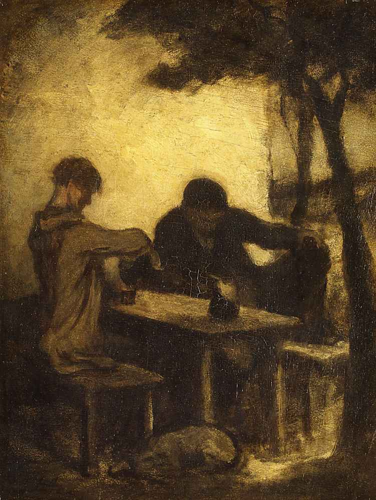 The Drinkers - Charles-Francois Daubigny