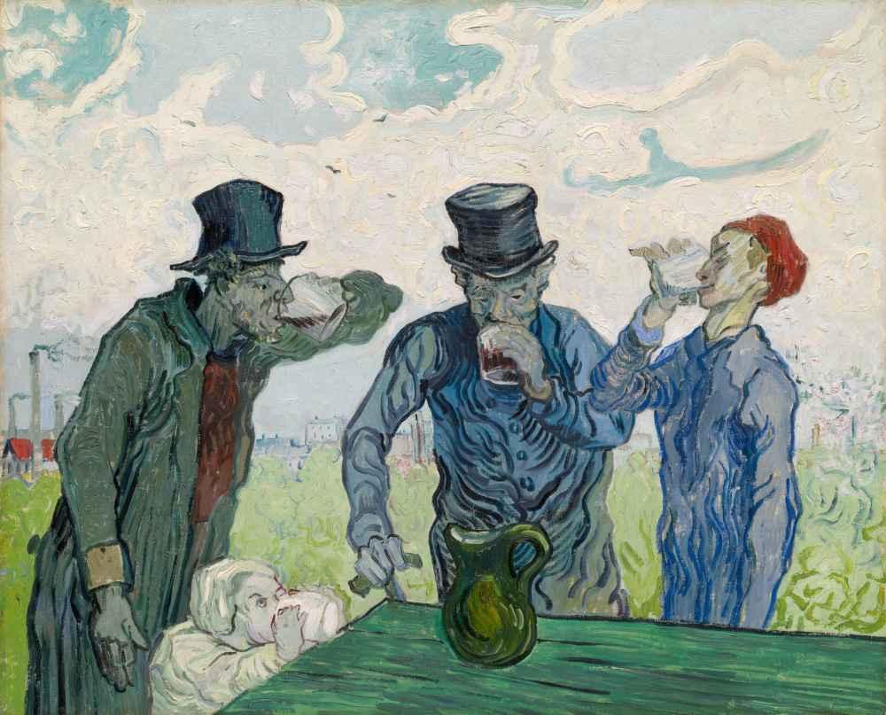 The Drinkers - Vincent van Gogh