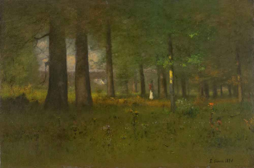The Edge of the Forest - George Inness