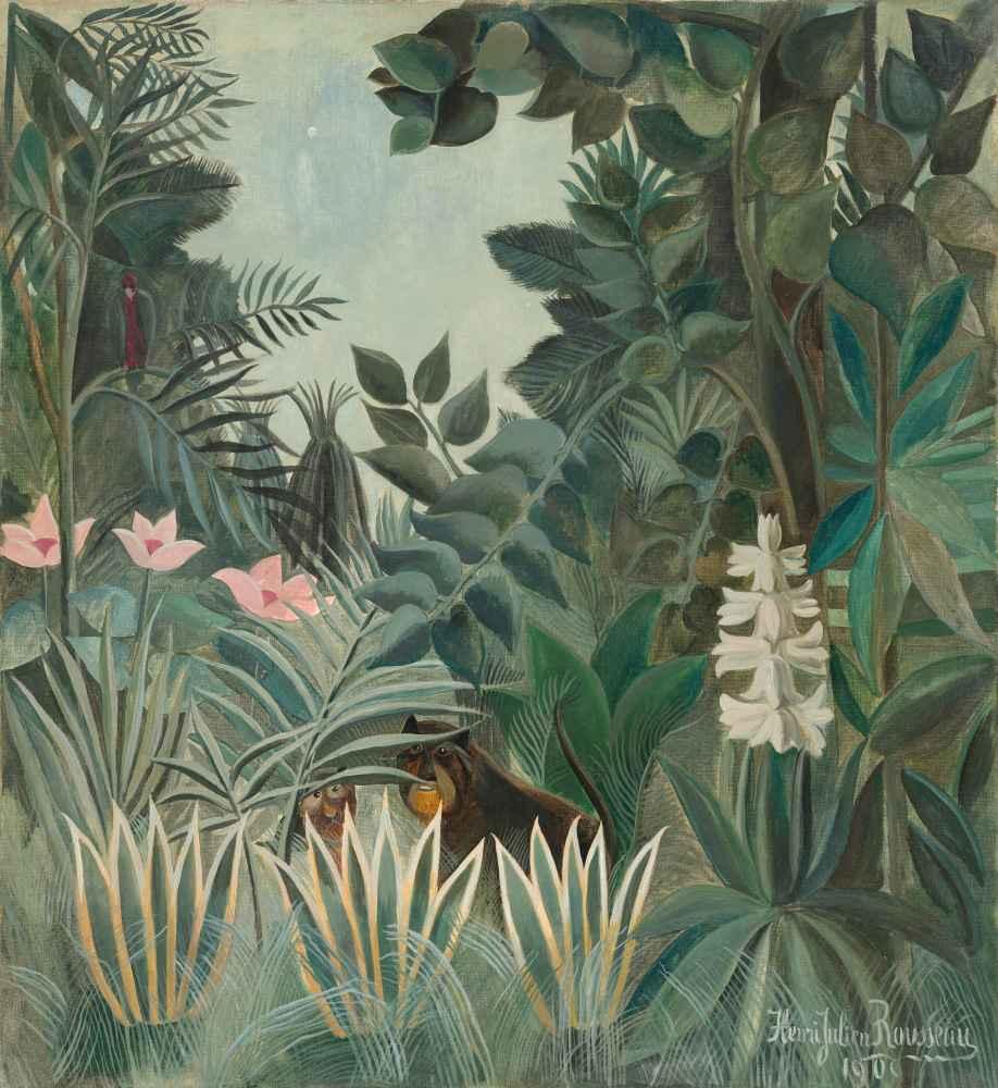 The Equatorial Jungle - Henri Rousseau