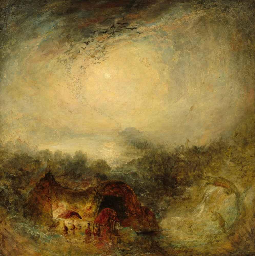 The Evening of the Deluge - Joseph Mallord William Turner