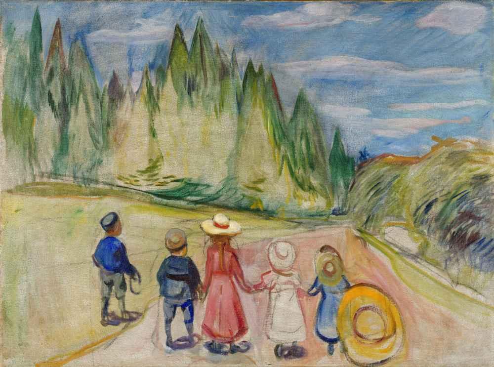 The Fairytale Forest - Edward Munch