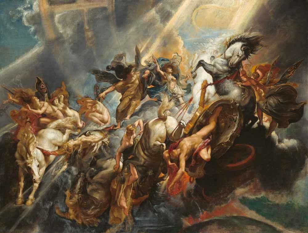 The Fall of Phaeton - Peter Paul Rubens
