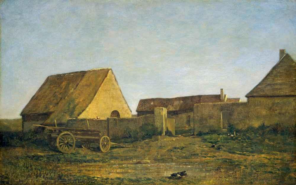 The Farm - Charles-Francois Daubigny